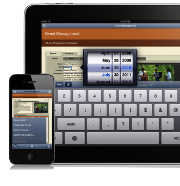 FileMaker Go para el iPhone y el iPad