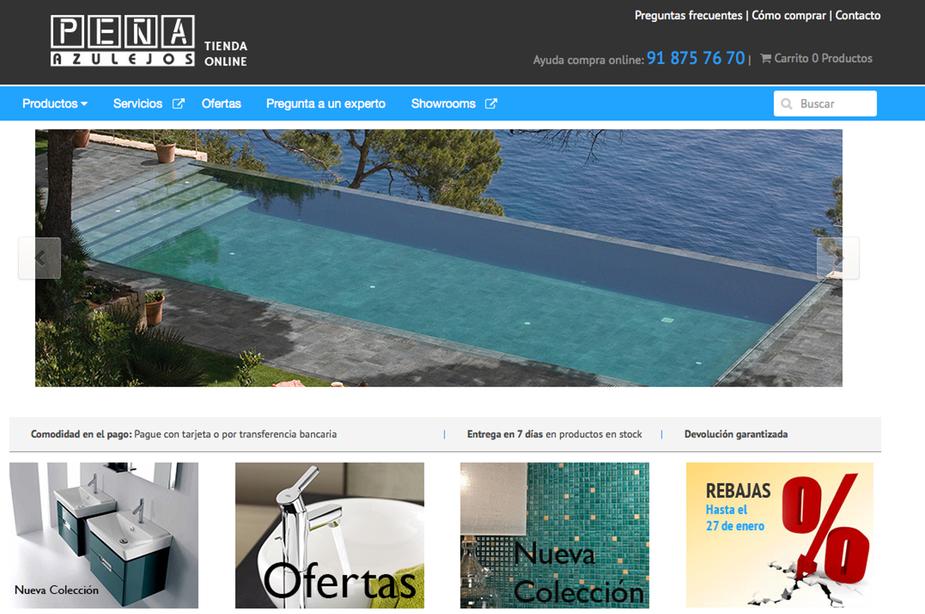Azulejos Peña tienda online